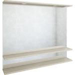 Зеркало Sanflor Бруно 105, белый орегон (C02727)