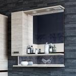 Зеркало-шкаф Sanflor Техас 60 левый, венге\орегон (C0000001972)