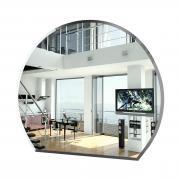 Зеркало ЕвроЗеркало 072Ф, 80х70 см., с полным фацетом, толщина зеркала 4 мм.