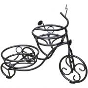 Напольная подставка на 2 горшка комплект-агро велосипед серая ka6211g