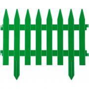 Декоративный забор grinda классика 28x300 см зеленый 422201-g