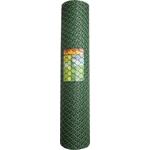 Решетка заборная Grinda 1.9х25м, ячейка 55х58мм цвет хаки (422267)