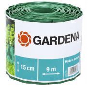 Садовый бордюр Gardena зеленый 15 см длина 9 м 00538-20