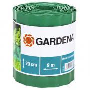 Садовый бордюр Gardena зеленый 20 см длина 9 м 00540-20