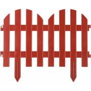 Декоративный забор grinda палисадник 28x300 см терракот 422205-t