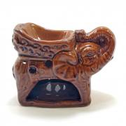 Аромалампа Слон 8х10см керамика