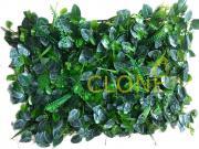 Искусственный газон-коврик пестрые листья