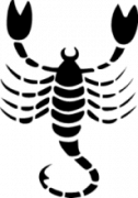 Наклейка Знак зодиака Скорпион