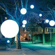 Декоративный подвесной светильник шар разноцветный Moonlight 120 см 220V RGB_YM