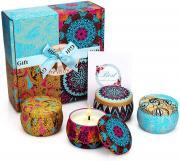 """Подарочный набор ароматических свечей """"For you"""""""