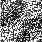 Набор из 4 декоративных элементов чёрный Koziol Silk (2033526)