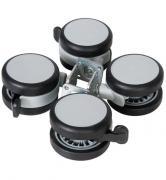 Крепление Schardt Комплект колес со стопорами для 1-секционного шкафа Holly