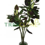 205см Treeclone (Россия) Искусственное Дерево Колеус с цветами Джилма