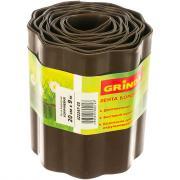 Бордюрная лента grinda коричневый 20смх9м 422247-20