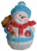 Фигура садовая «Снеговик»