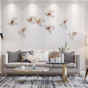 Дизайнерский Настенный Декор Птички Lalume-Kkk00341 B