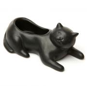 Кашпо Cosmo The Black Cat Kikkerland