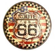 "Наклейка декоративная ""Винтаж. Route 66"" (30x30 см)"