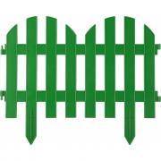 Декоративный забор grinda палисадник 28x300 см зеленый 422205-g