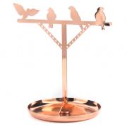 Держатель для украшений Bird медь Kikkerland