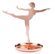 Держатель для украшений Ballerina медь Kikkerland