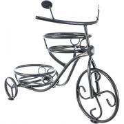 Напольная подставка на 2 горшка комплект-агро велосипед белая ka6211w