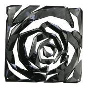 Набор для шторы разделителя, 4 детали Romance, чёрный