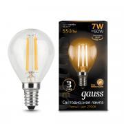 Лампочка Gauss 105801107 Filament Globe