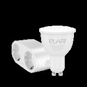 Лампа светодиодная ELARI SmartLED Warm&Cold GU10 + умная розетка ELARI Dual Smart Socket