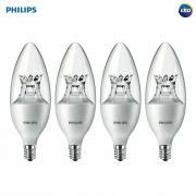 Лампа светодиодная Philips Rui Chi, E14, B35, 3.5Вт