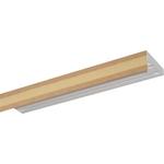 Карниз потолочный пластиковый DDA Прямой Акант трехрядный песок 2.2