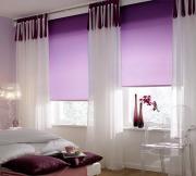 Миниролло 100х160 фиолетовый