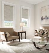 Рулонные шторы Рим, бежево-коричневые, 100 x 170 см