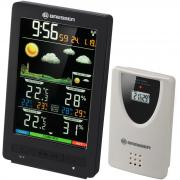 Метеостанция Bresser ClimaTemp WS с цветным дисплеем, черная