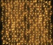 Занавес светодиодный 3х2 м теплый белый свет (ULD-C2030-240/DTA WARM WHITE IP20)