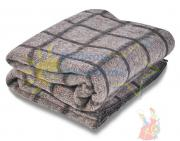 Армейское одеяло полушерстяное 1.5 спальное