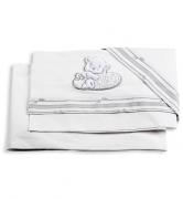 Постельное белье Italbaby Комплект белья из 2-х предметов для Love (наволочка, пододеяльник), белый
