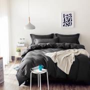 Однотонный страйп-сатин CT002 2 спальный