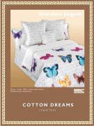 Постельное белье Cotton-Dreams Giardani Segreti (Евро, наволочки 70x70)