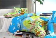 Комплект детского постельного белья «Олененок Бэмби в сказочном лесу» Детский