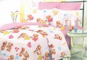 Комплект постельного белья «Очаровательные мишки» Детский