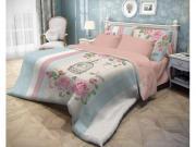 Комплект постельного белья Volshebnaya-noch ранфорс, 2,0-спальный, нав. 50x70*2, Fluid