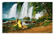 """Постер 58 """"Водопад"""" 100х63 см"""