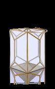 Подсвечник-фонарь 0.27x0.24x0.24м
