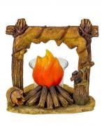 Подсвечник со свечой «Индейский костёр»