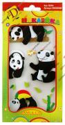 Декоративные наклейки для украшения альбомов и рамок для фотографий, фотоальбомов, скрапбукинга, 3d животные, панда GF 2283