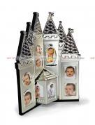 Детская фоторамка для 13 фото разного фотрмата, мультирамка, замок GF 3512