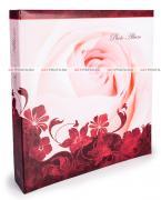 Магнитный фотоальбом, альбом с магнитными листами, 100 страниц (50 листов) 23х28, роза GF 4548