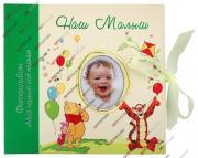 Детский комбинированный фотоальбом, альбом для фотографий формата до 30х30, наш малыш, винни и его друзья GF 2421