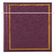 Фотоальбом, альбом с магнитными листами, 100 страниц (50 листов) 24,5х31, песок, фиолетовый, металлик GF 4631